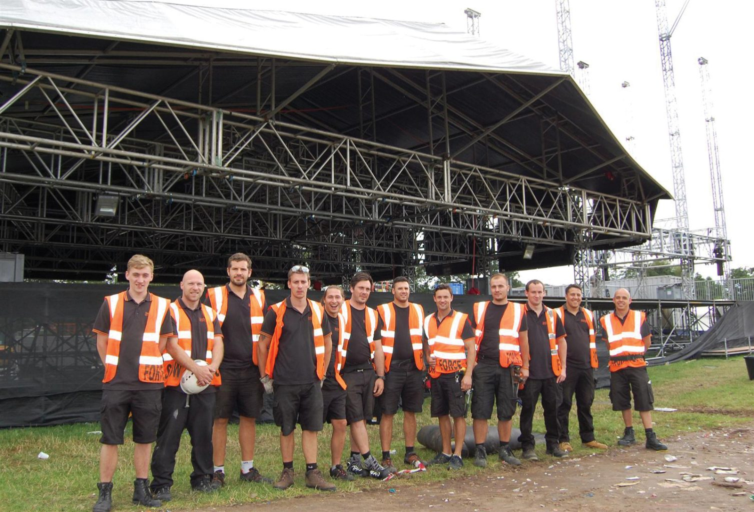 Stagehand supports touring crews and event production workers