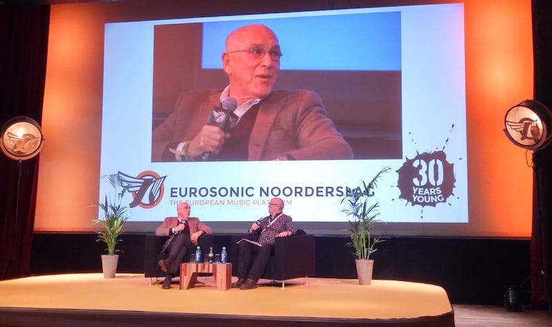 Marek Lieberberg, Allan McGowan, Eurosonic Noorderslag 2016