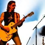 Jesse Hughes, Eagles of Death Metal, Ancienne Belgique, Brussels, February 2009