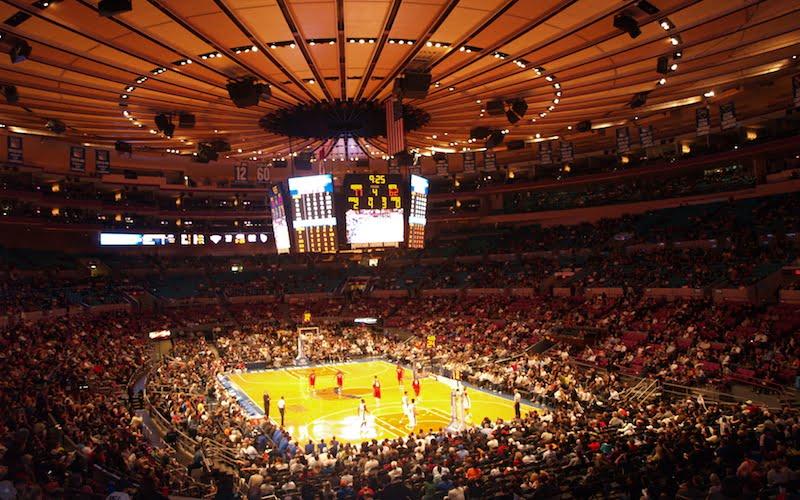 New York Knicks, Madison Square Garden, 17 October 2009, Enrique Burgos