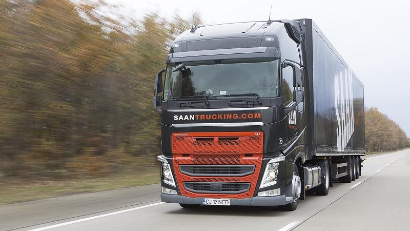 Saan Trucking, Romania