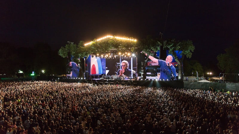 The Who, British Summer Time (BST) Hyde Park, Capital Sound, Martin Audio