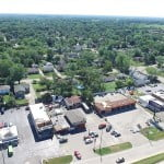 Wildwood storm damage, 3 August 2015, Illinois, Sky's the Limit Dronography