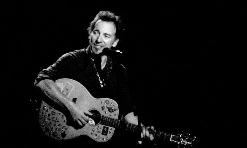 Bruce Springsteen, Chris Boland www.distantcloud.co.uk
