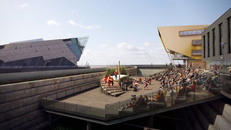 Stage @TheDock, Hull, Wykeland Group