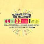 Ultimate Festival Free Prize Draw, Aid Box Convoy