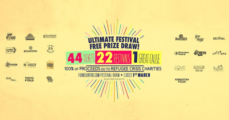 Ultimate Festival Free Prize Draw, Aid Box Convoy