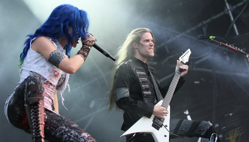 Arch Enemy, Rockharz Open Air 2014, S. Bollmann