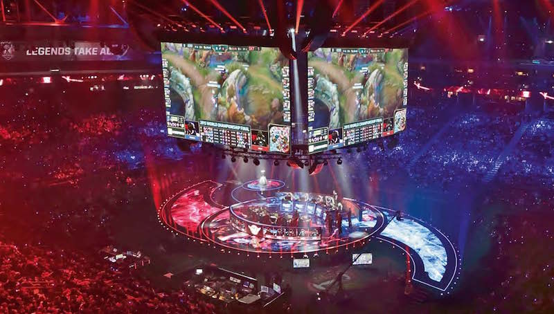 Mercedes-Benz Arena, Berlin, League of Legends