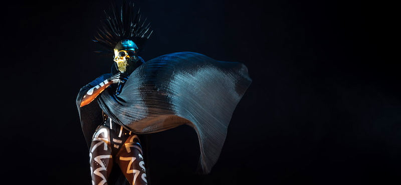 Grace Jones, Vivid 2015, Sydney, Bruce (kingArthur_aus)