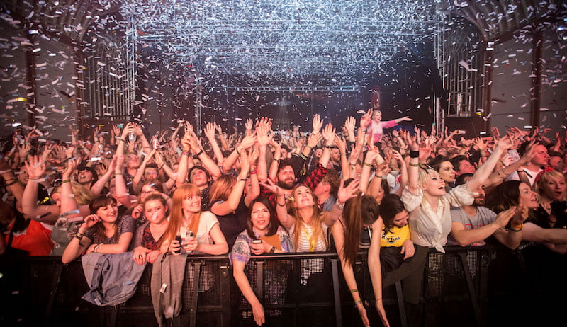 Audience, The Great Escape 2015, Brighton