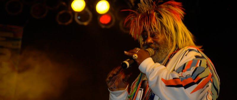George Clinton, Parliament-Funkadelic, IndyDina with Mr Wonderful