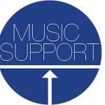 Music Support logo