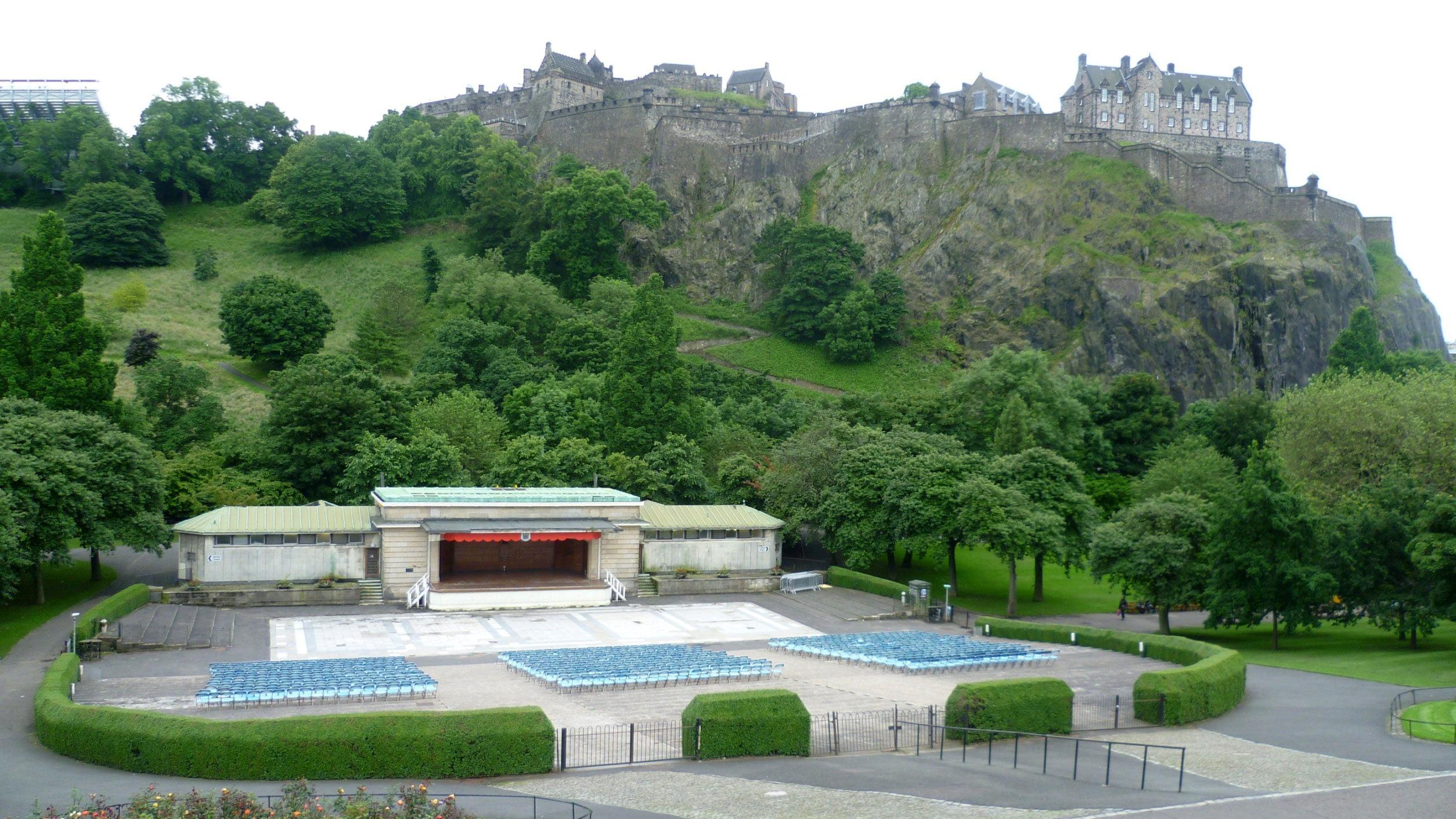 Ross Bandstand, Edinburgh, Kim Traynor