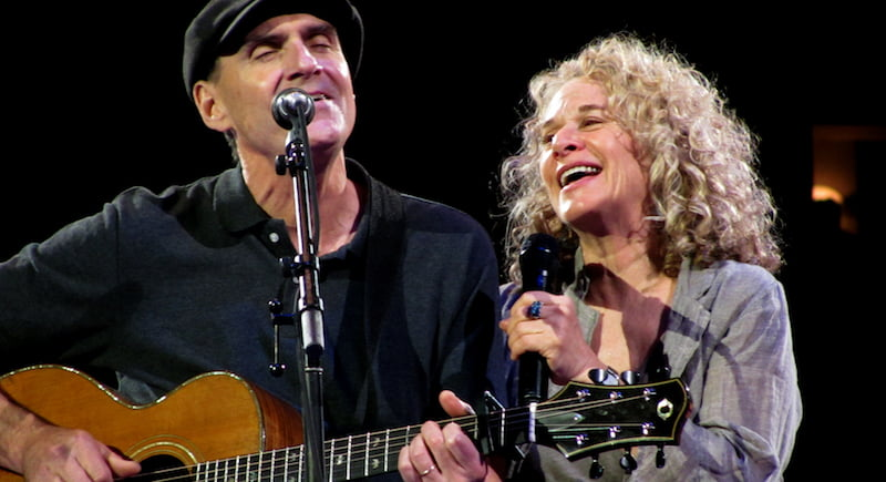 James Taylor, Carole King, Troubadour Reunion, San Jose, 2010, rocor, Concord, Bounce