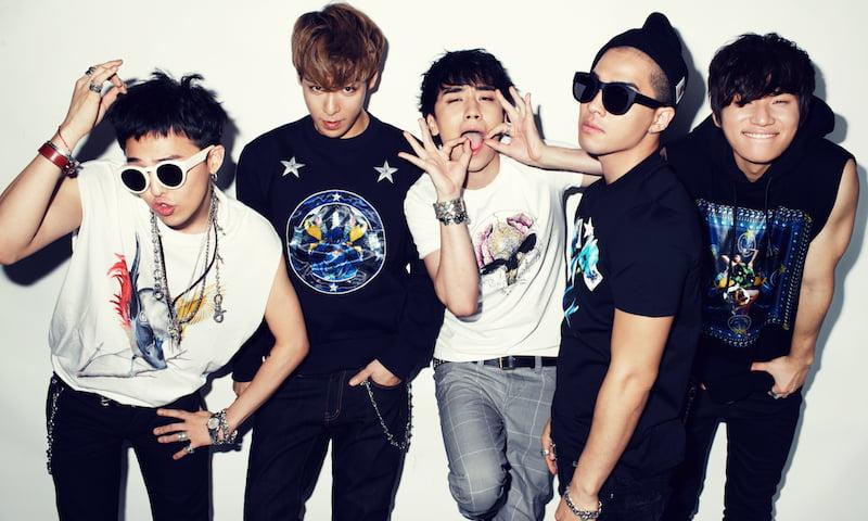 K-pop band Big Bang, YG Entertainment