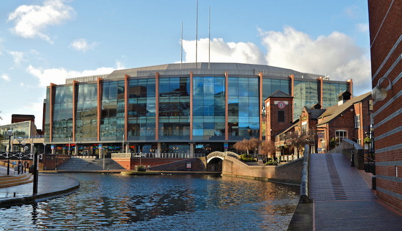 Barclaycard Arena (National Indoor Arena), Philip Pankhurst