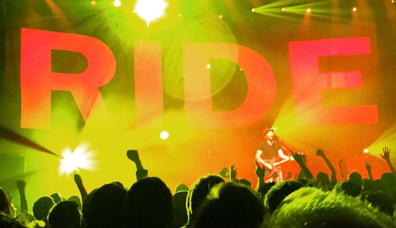 Ride, Roundhouse, May 2015, Simon Bleasdale, music tourists