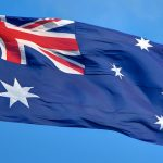 Australia flag, Lachlan Fearnley