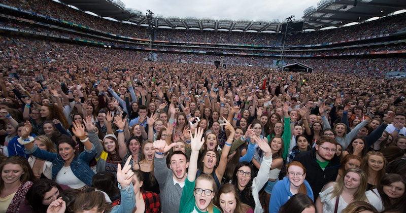 Ed Sheeran fans, Croke Park, State of stadia