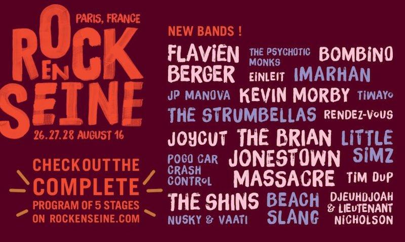 Rock en Seine 2016 complete line-upRock en Seine 2016 complete line-upRock en Seine 2016 complete line-up