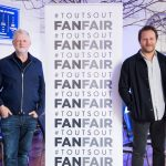 Brian Message, Harry Magee, Adam Tudope, Ian McAndrew, FanFair launch, Kirsten Holst