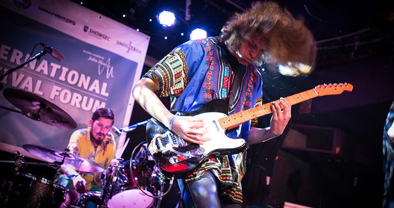 UTA-booked Waco play a showcase at IFF 2015, IFF 2016