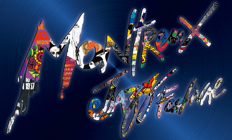 Montreux Jazz Festival 50th anniversary poster