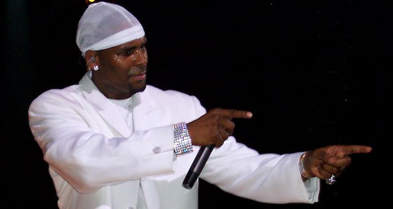 R Kelly, Mr Show Biz Presents: The Light it Up tour, Atlantic City, Nicholas Ballasy