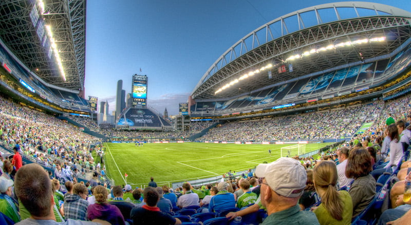 CenturyLink Field, Seattle Sounders FC, Major League Soccer, SeatGeek/TopTix, Art Bromage