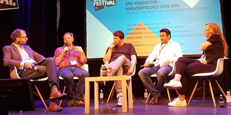 Greg Parmley, Falco Zanini, Steven Kruijff, Okan Tombulca, Barbara Vos, Reeperbahn Festival 2016, Epic Production panel
