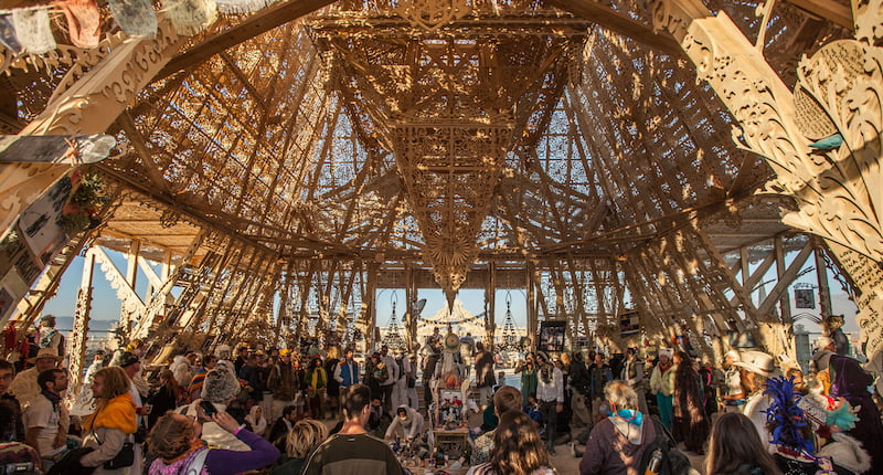 Temple, Burning Man 2012, Duncan Rawlinson