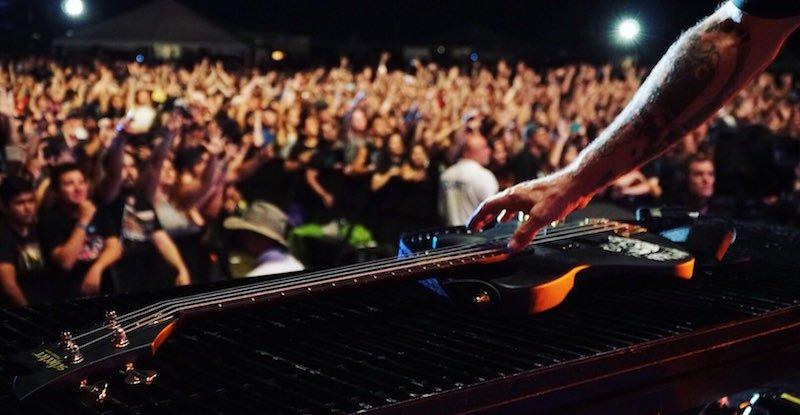 Avenged Sevenfold, Houston Open Air, White Oak show