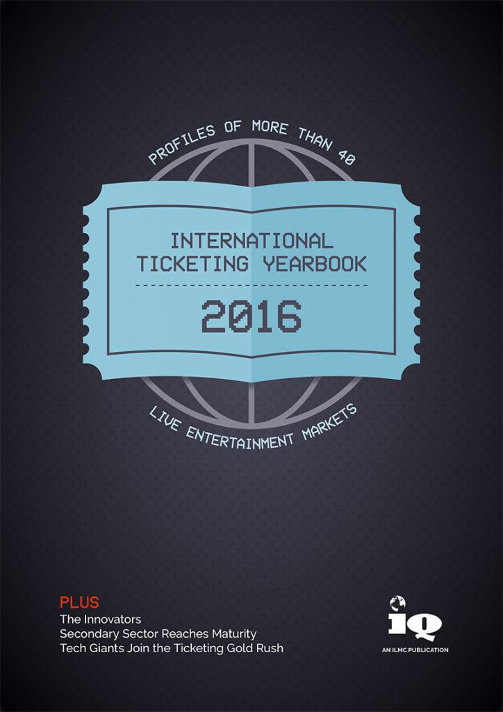 International Ticketing Yearbook (ITY) 2016