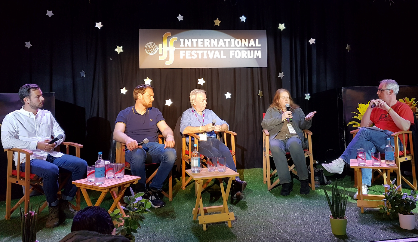 Sam Bush, Stephan Thanscheidt, Herman Schueremans, Michaela Maiterth, Eamonn Forde, Festival 2020, International Festival Forum (IFF) 2016