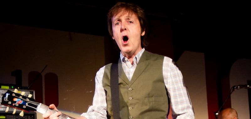 Paul McCartney, 100 Club, MPL Communications/MJ Kim