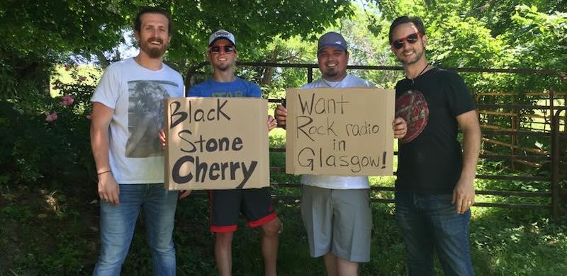 Black Stone Cherry, Rock Radio Glasgow