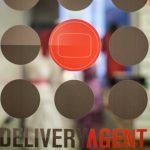 Delivery Agent office door