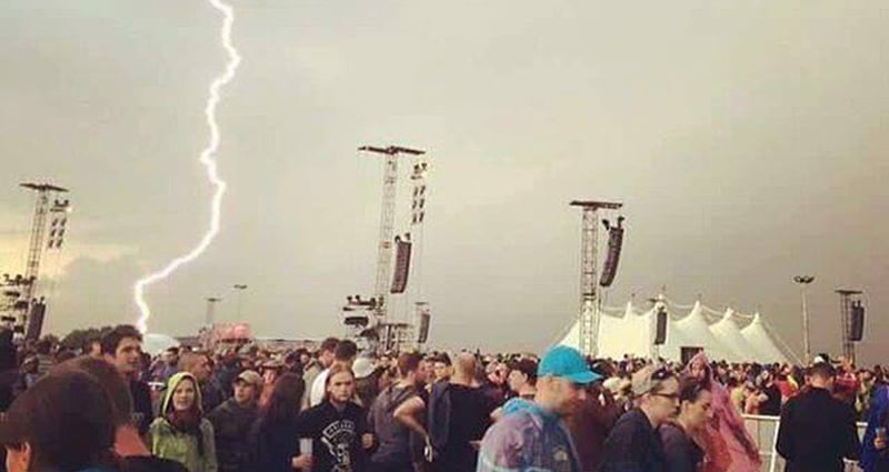 Rock am Ring 2016 lightning