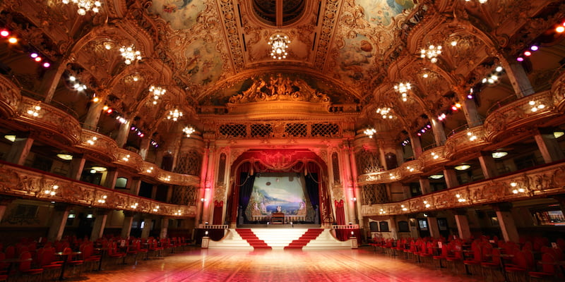 Blackpool Tower Ballroom, Michael Beckwith