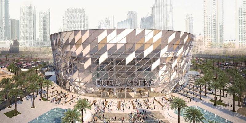 Dubai Arena, AEG Ogden