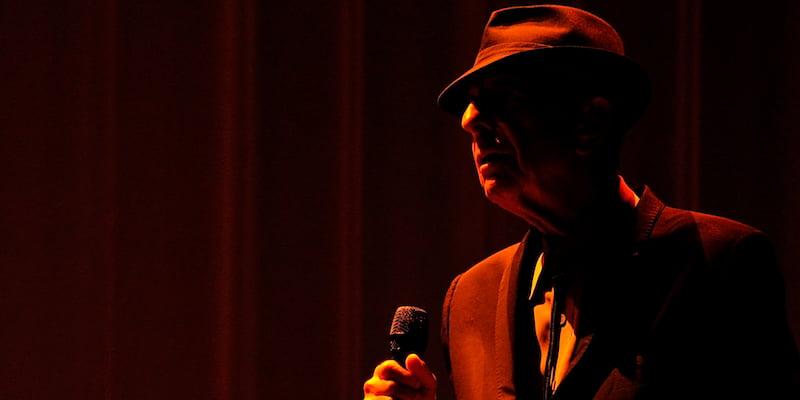 Leonard Cohen, King's Garden, Odense, 2013, Takahiro Kyono