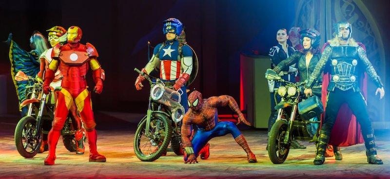 Marvel Universe Live!, Hubert Yu, Deutsche Entertainment AG