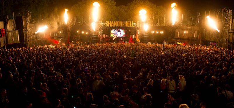 Shangri-La, Glastonbury 2014, Continental Drifts