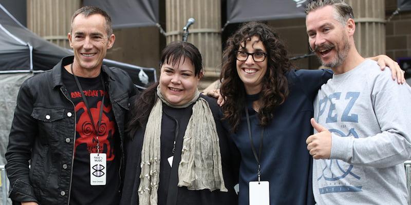 Millie Millgate, Sounds Australia press conference, Carbie Warbie