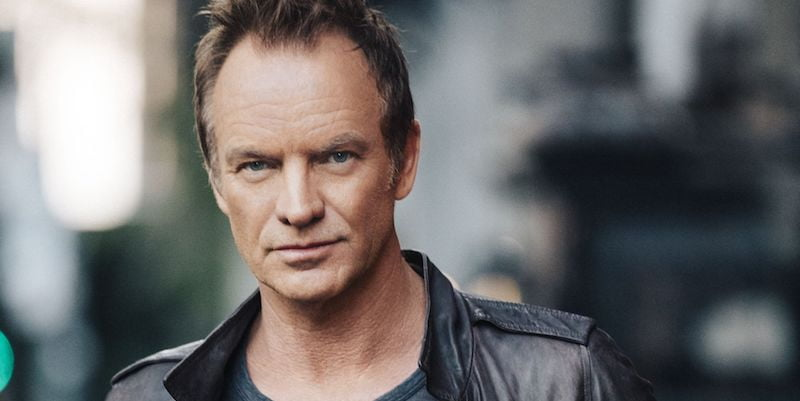 Sting, 57th & 9th tour, Eric Ryan Anderson