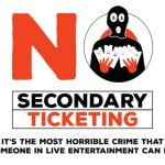 No Secondary Ticketing logo