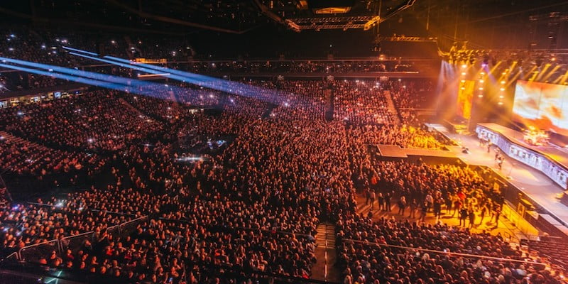 Scorpions, Žalgirio Arena, February 2016, European Arenas Association (EAA)