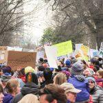 No Muslim Ban protestors, Washington DC, Joe Flood