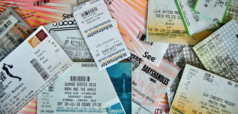 Image result for concerts tickets